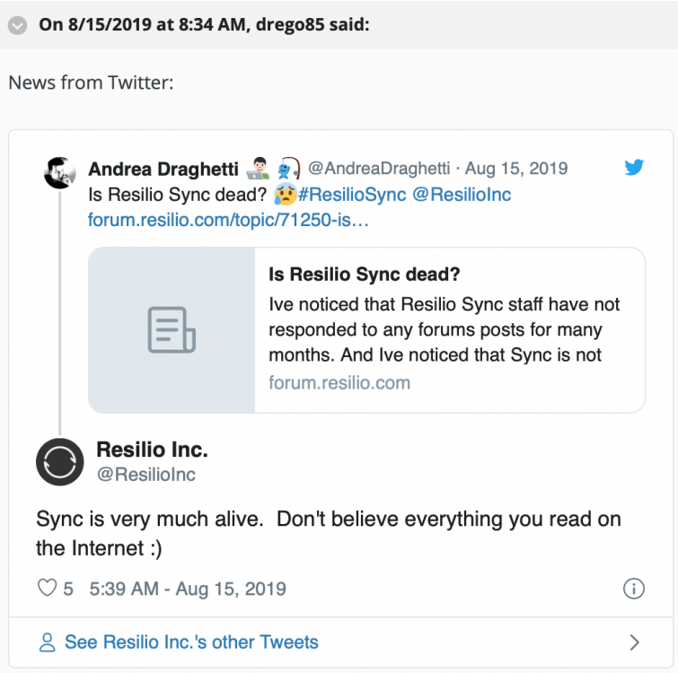 Resilio was lived in august 2019.png